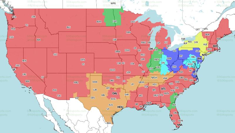 506 Sports - NFL Maps: Week 17, 2016