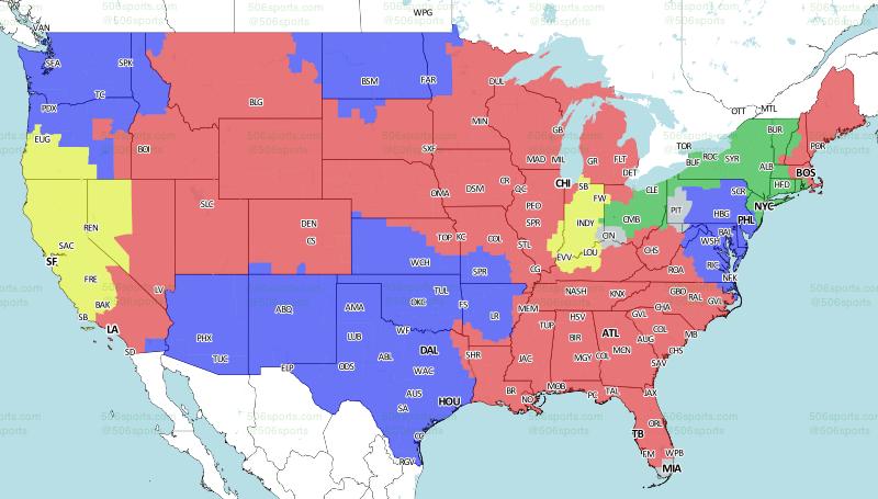 506 Sports - NFL Maps: Week 5, 2017