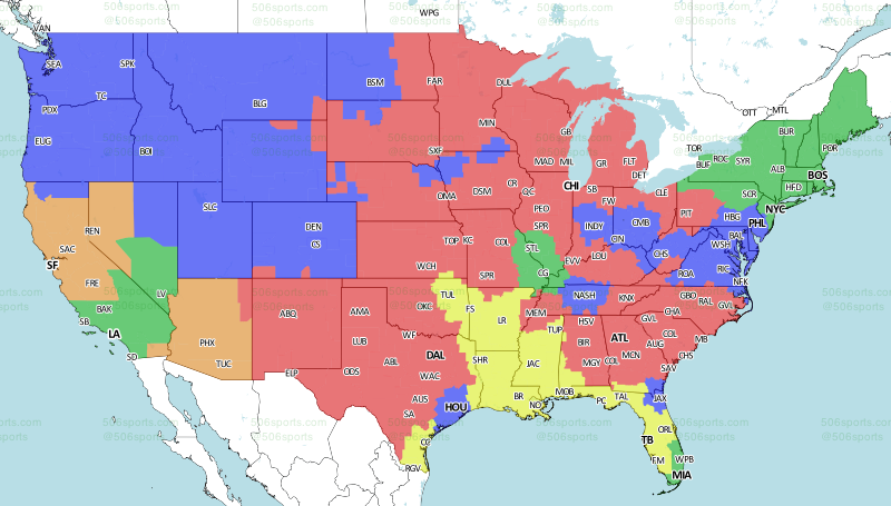Sportscom Home - Mlb us map