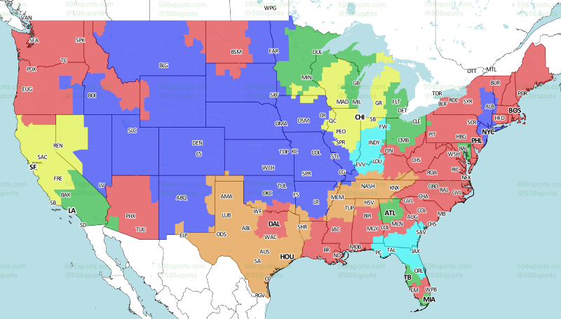 NFL 2017: TV Schedule and broadcast map for Week 13 on map of nfl teams in usa, map of all disney, map of favorite nfl teams, map of all mls teams, us map nfl teams, central hockey league teams, us map of baseball teams, map nfl teams by fans, map of all cfl teams, map of nfl stadiums, map of all colleges, map of all mlb, map of all saints, map of all football players, map with nfl team division, map of the nfl, map of all animals, map of nfl teams poster, map of all new england, map of nfl cities,