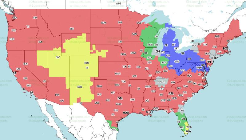 506 Sports - NFL Maps: Week 13, 2017