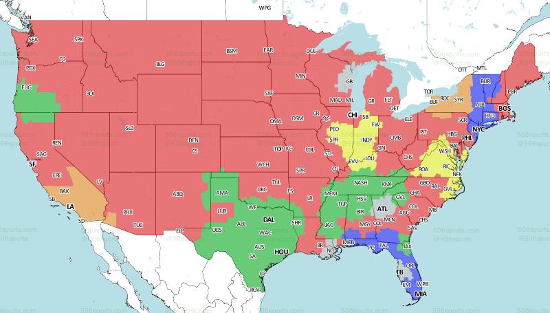 506 Sports - NFL Maps: Week 2, 2018