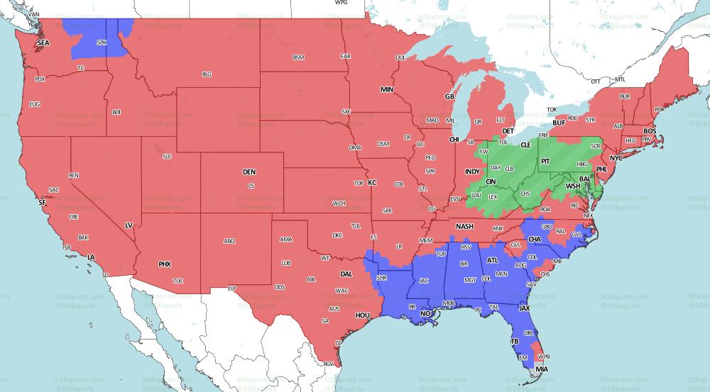 506 Sports Nfl Maps Week 6 2019