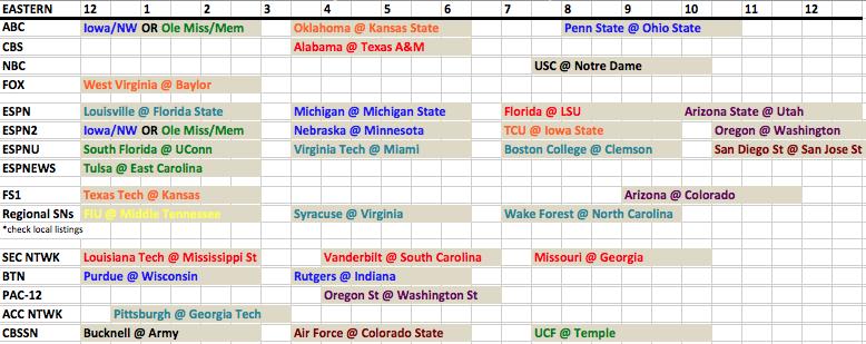 tv schedule 16-17 oct